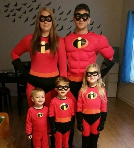 Incredbiles Family Costume