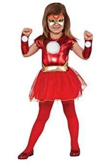 Iron Man Girls Suit