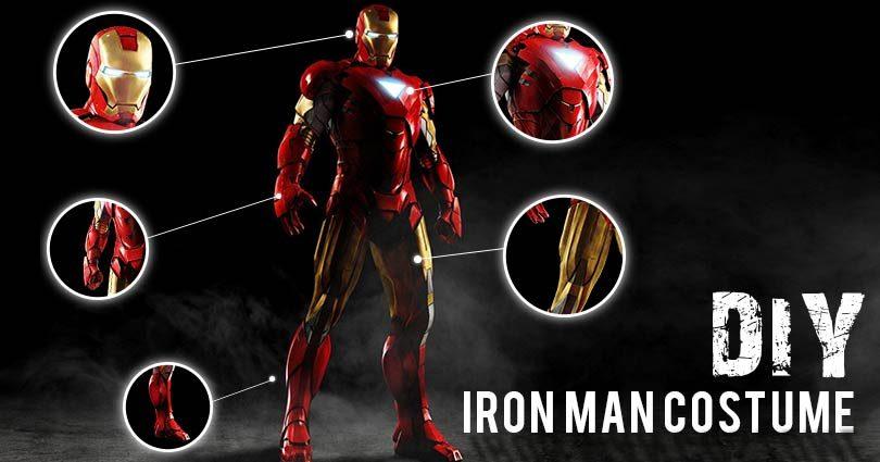 1386e399189fa Iron Man Costume | Suit, Shirt and Merchandise