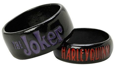 Joker and Harley Engagement ring