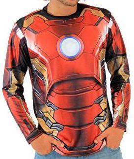 Long Sleeve Iron Man Shirt