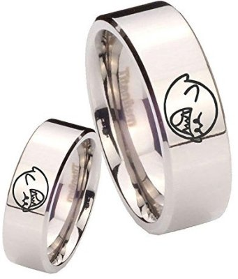 video game wedding rings personalized rings wedding and guide 8266