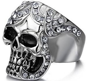 Skull Wedding Rings 22 Bizarre Shapes And Styles