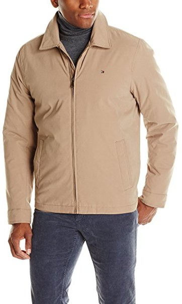 Micro-Twill Open Jacket for Men