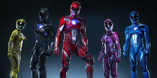 Power Rangers Suit 2017