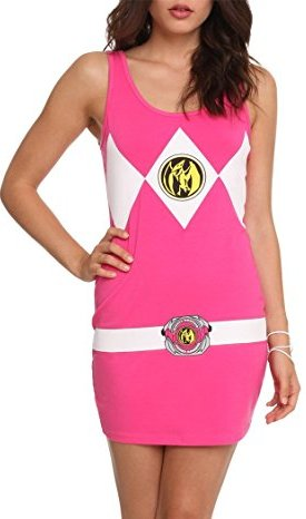 Sexy power ranger outfit