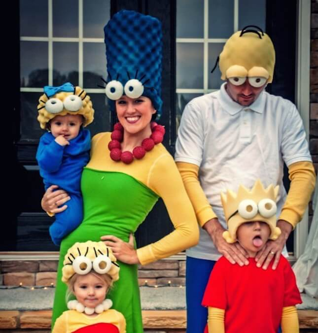 The Simpons Family Costume