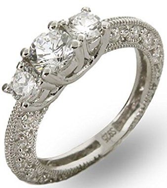 Vintage engagement rings discover the old style vintage style engagement ring junglespirit Image collections
