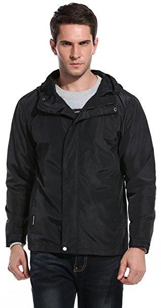 Windbreaker Outdoor Jacket Black for men