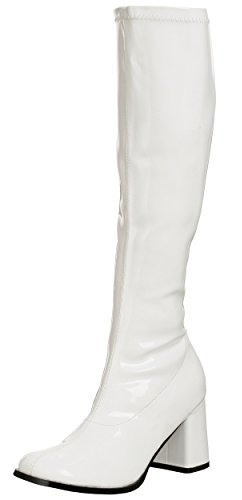 Women White Long Boots