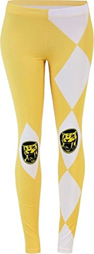 Womens Yellow Power Ranger Legging
