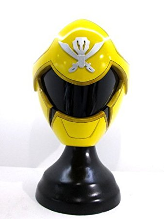 Yellow Ranger Cosplay Helmet