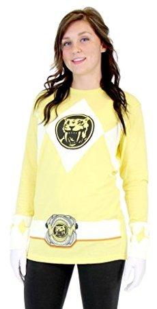 Yellow Ranger Full sleeve Shirt
