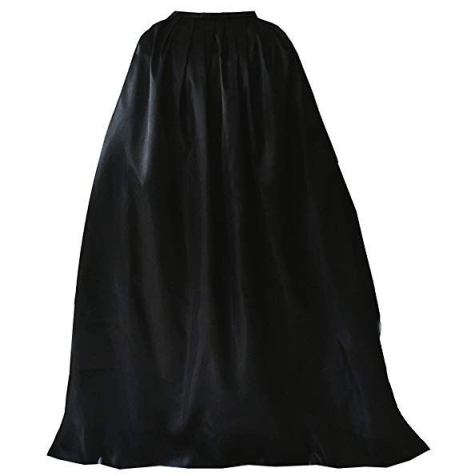 batman cape adult black