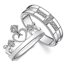 crown style ring