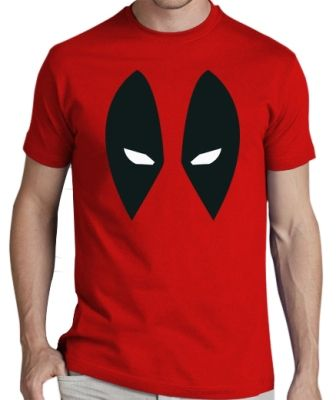 deadpool shirt in red