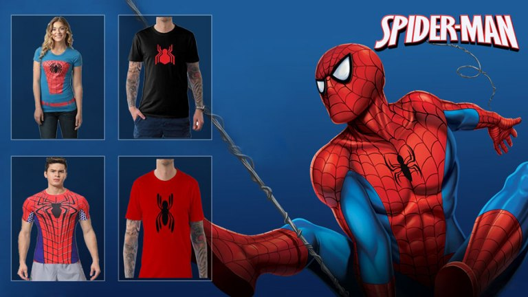 11d24e5405c3e9 Stop Everything and Check Out These Cool Spiderman Shirt Collection