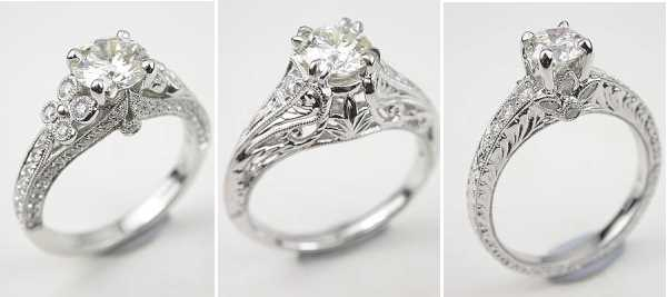 vintage enement rings discover the old style - Victorian Wedding Rings