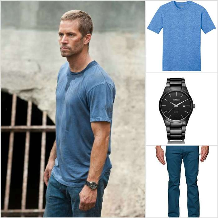 Brain O Conner Blue Shirt Outfit