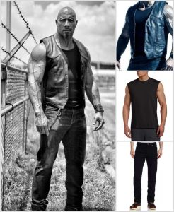 Dwayne Johnson Vest with Matching Collection