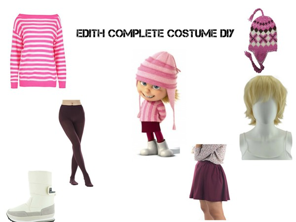 Edith Complete Costume DIY