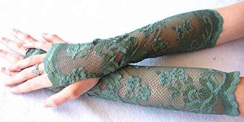 Fingerless Leaf Gloves for Costume