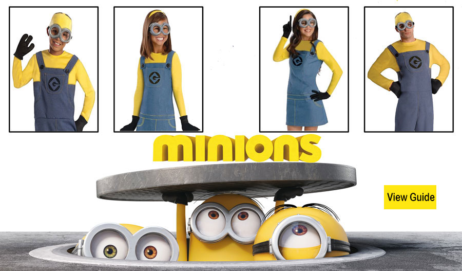 Guide For Minion Costumes