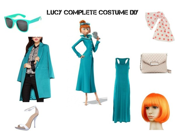 Lucy Complete Costume DIY