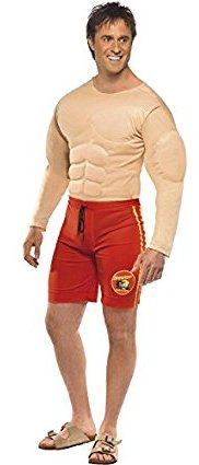 Men's Lifegaurd muscular body