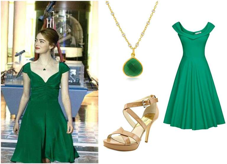 Mia Dance Green Dress