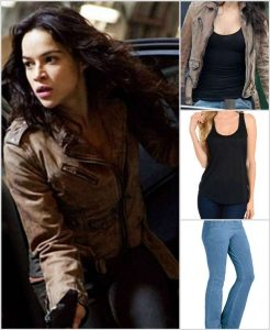 Michelle Rodriguez Letty Ortiz Jacket