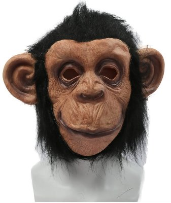 Planet of the apes costume mask gloves body and kids planet of the apes costume diy monkey mask solutioingenieria Choice Image