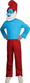 Papa Smurf Kids Costume