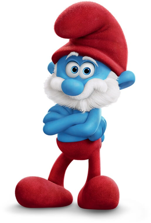 Smurf costume its your turn to wear blue lets start with papa smurf costume diy solutioingenieria Images