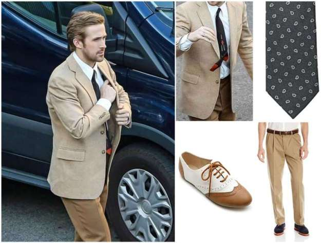 Ryan Gosling Sebastian Complete Suit Combination