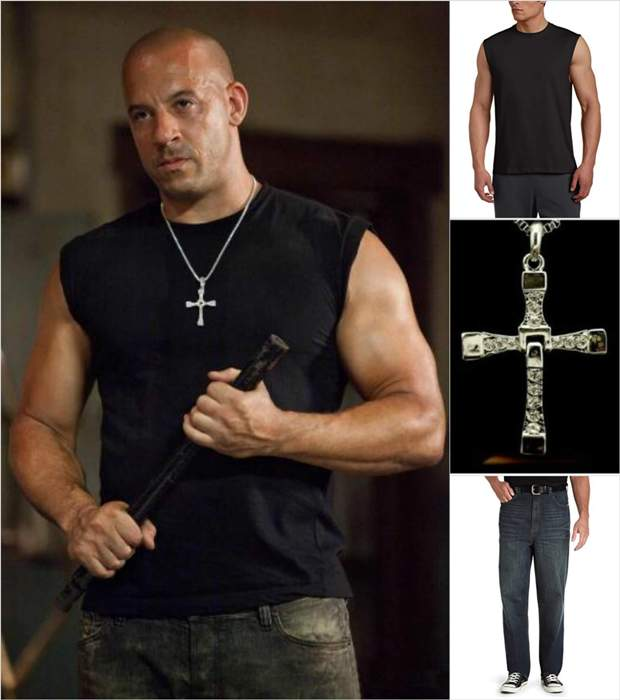 Vin Diesel Casual fashion - Copy