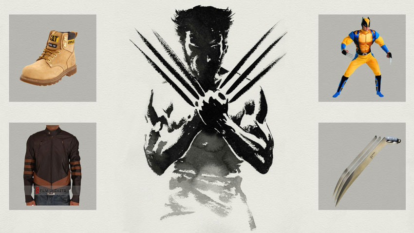 Wolverine 3dprinted Claws Replica Logan Cosplay