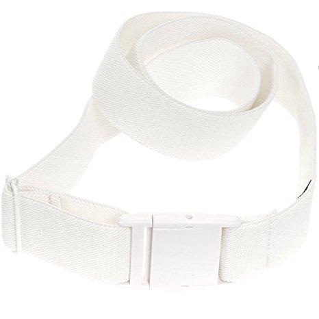 Women white Adjustable Belt