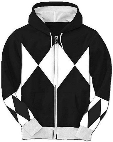 black power rangers hoodie