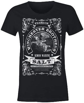 black t shirt winchester