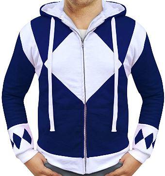 blue power rangers hoodie