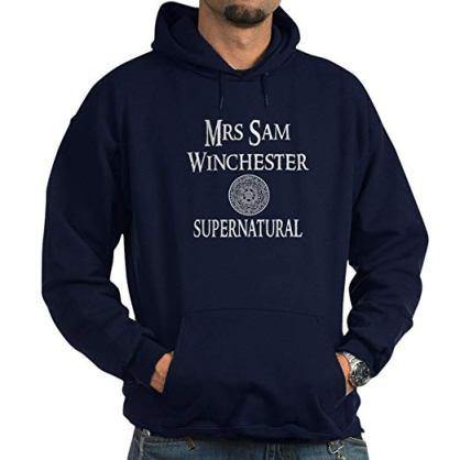 blue supernatural hoodie