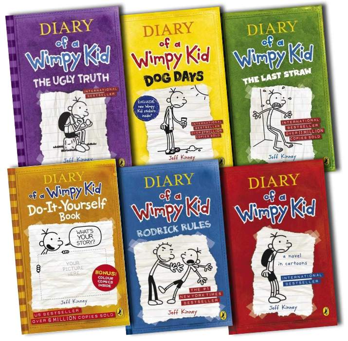 Diary of the wimpy kid books collectibles and more diary of the wimpy kid books collection solutioingenieria Gallery