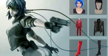 Ghost In The Shell Cosplay 375x195
