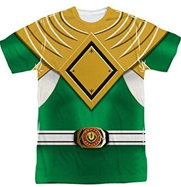green ranger tee shirt