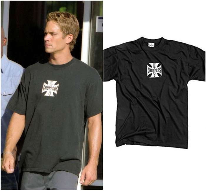 late paul walker west choppers shirt