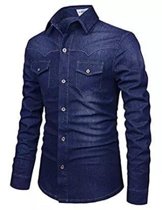 leon shirt blue jeans