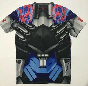 optimus prime compression shirt