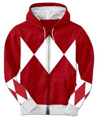 power rangers hoodie