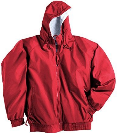 red baywatch jacket